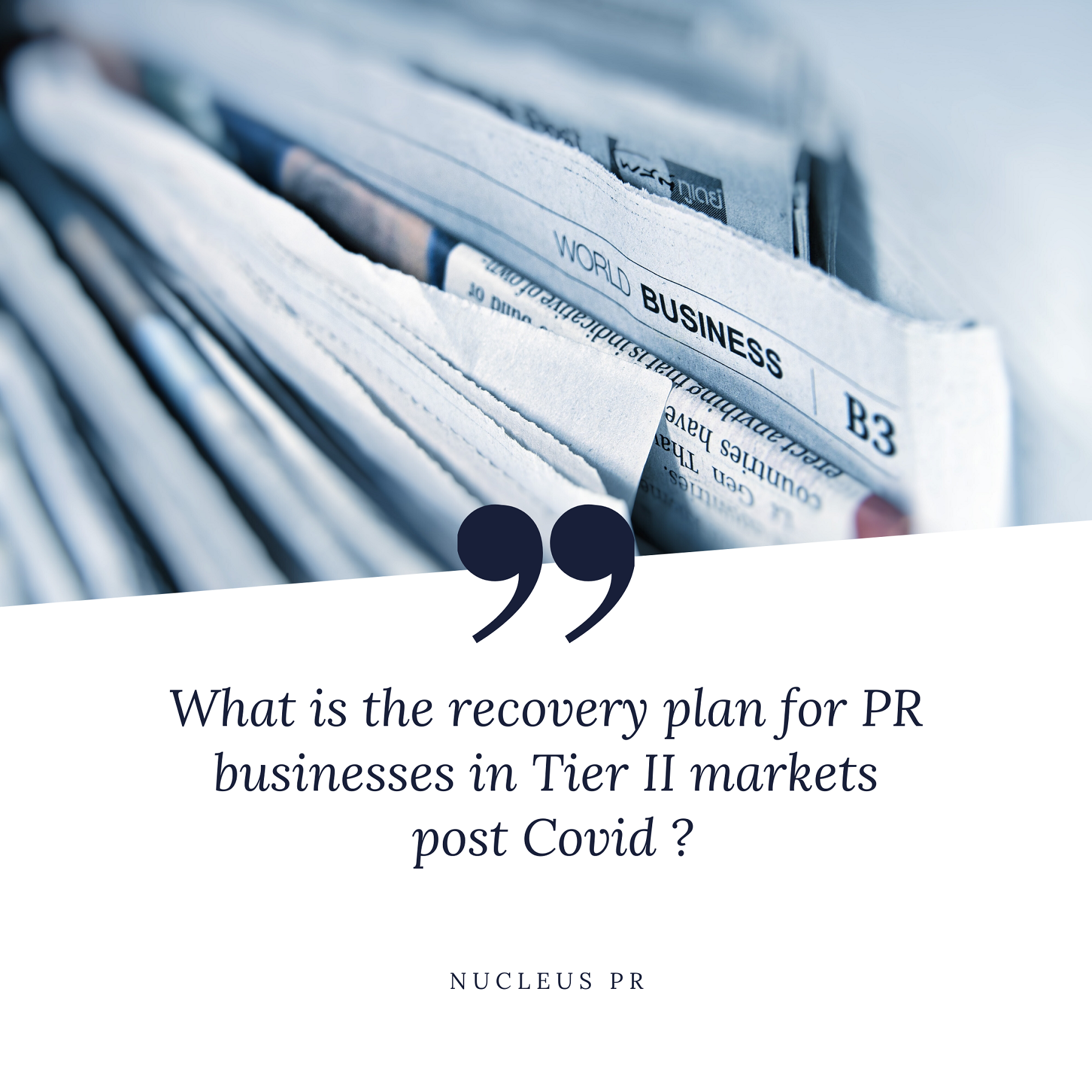 How is the Tier 2 market handling recovery from the Covid19 Impact?